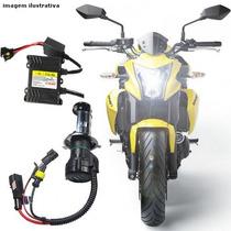 Kit Bi-xenon Para Motos Super H.i.d. 6000k/8000k Reator Slim