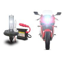 Kit Xenon Lâmpada H4-2 Moto Slim Hid 8000k