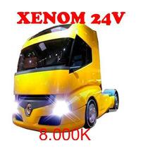 Kit Xenon Techone Para Caminhão 24v A Pronta Entrega 8.000k