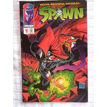 Spawn Nº 1! Março 1996! Editora Abril! R$ 25,00!