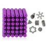 Neocube 5mm De 216 Esferas Magnéticas (roxo)