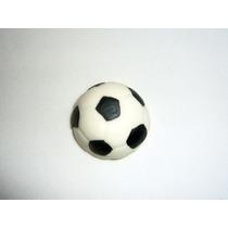 30 Lembrancinhas Bola De Futebol Imã Em Biscuit