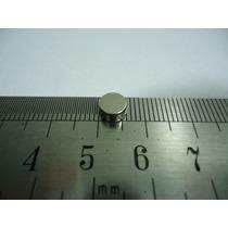 Super Imã Neodimio 20 Pcs Ø6x3mm Suporta 500g Frete Grátis