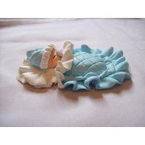 Lembrancinha De Biscuit Maternidade - Iman ( Kit 30 Unidades