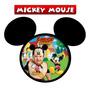 30 Imãs De Geladeira Personalizados - Mickey Mouse