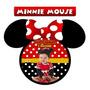 60 Imãs De Geladeira Personalizados - Minnie Mouse