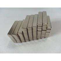 Imã De Neodímio / Super Forte / 20mm X 4mm X 2mm * 10 Peças