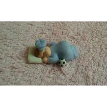 Lembrancinha Imã De Geladeira Bebê Em Biscuit - 100 Unidades