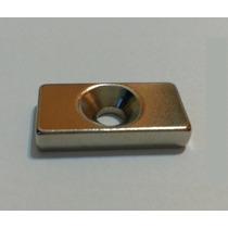 Imã De Neodímio / Super Forte / 20mm X 10mm X 4mm * 1 Peça