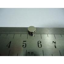 Super Imã Neodimio 50 Pcs Ø6x3mm Suporta 500g Frete Grátis