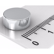 Super Ima De Neodimio Disco 13x5mm Suporta 4 Kgs 100 Peças