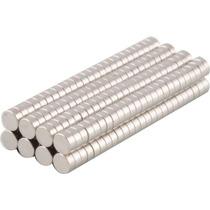 Imã De Neodímio 50 Peças / Super Forte / 3mm X 1,5mm