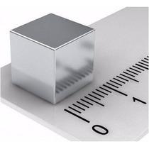 Super Ímã Neodímio 1x1x1 Cm Ou 10x10x10 Mm 1 Pç N50 3,5 Kgs