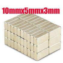 Frete 9,90 Imã De Neodímio Super Imã 10x5x3mm