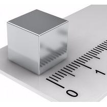 Super Ima Neodimio Cubo 1x1x1 Cm Ou 10x10x10 Mm 4,1 Kg 10 Pç