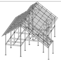 Kit Estrutura Metálica - Galpão - Casa - Pre Fabricada
