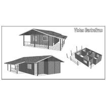 Casa De Concreto Pré Moldado