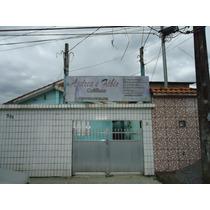 Casa Em Guarujá 3 Dormitórios + Edícula Nos Fundos