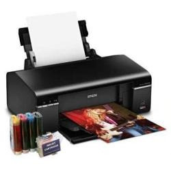Impressora Epson T50 + Kit Bulk Ink + 600 Ml+25 Dvds