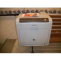 Impressora Laser Color Samsung Clp 610 Nd Funcionando