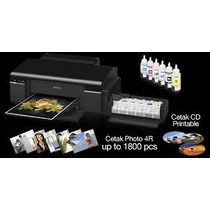 Impressora Epson L800 Imprime Direto Em Cd/dvd E Crachas