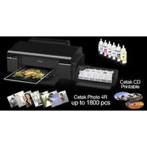 Impressora Epson L800 Imprime Direto Em Cd/dvd