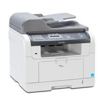 Multifuncional Laser Ricoh Sp 3200 Af Rede Fax Scx5530 5535
