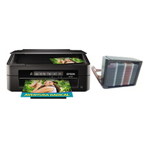 Impressora Epson Xp214 + Bulk Ink Elegance + 400ml Tinta