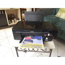 Impressora Epson Tx 125 / 135 Com Bulk Mais 400ml De Tinta