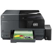 Impressora Hp Officejet Pro 8620 C/ Bulk Ink Elegance 400ml