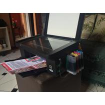 Impressora Epson Tx 115/105 Com Bulk Cheio 400ml De Tinta