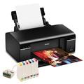 Impressora Epson Stylus Photo T50 + Buk Ink Sem Tinta