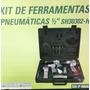 Kit De Ferramentas Pneumaticas A Ar 1/2 20peças - 6 Máquinas