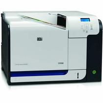 Impressora Hp Colorida Laserjet Cp3525dn A4 Revisada