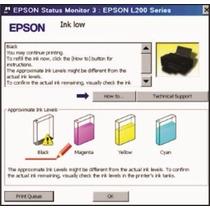 Reset Epson L100, L110, L200, L210, L355, L555 + Envio Imed