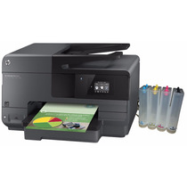 Impressora Hp 8610 Com Bulk Ink + Tinta Pigmentada