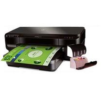 Impressora A3 Hp Officejet 7110 + Bulk Ink + Tinta 400ml