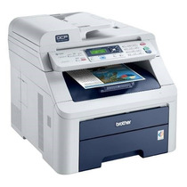 Impressora Brother Colorida Laser Mfc 9010cn