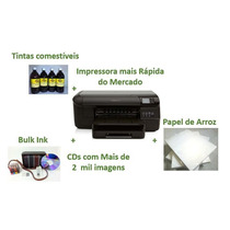 Kit Impressora Hp 8100 Para Papel De Arroz