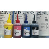 400ml Tinta Sublimatica 4 Cores 100ml De Cada Cor - Mizink