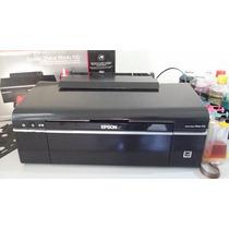 Epson T50+bulkink+tinta- Ac Troca Impressora Mais Simples+$