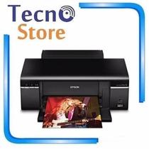 Impressora Epson Stylus T50 Imprime Em Cd Dvd Jato De Tinta