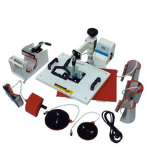Máquina De Estampar 8x1 - Prensa Térmica 8 Em 1