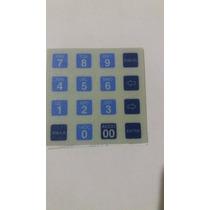 Adesivo Membrana Teclado Impressora De Cheque Dp20 Bematech