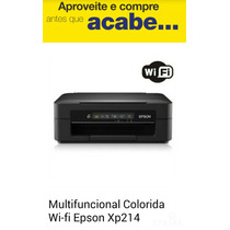 Multifuncional Colorida Epson Xp214