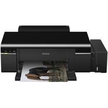 Impressora Tanque Jato Tinta Epson L800 Usb Impressão Dvd Cd