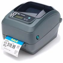 Zebra Gx420t Impressora De Etiquetas Usb Serial Rede