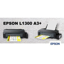 Impressora Epson A3 L1300 Tanque Tinta + 5 Refil Original