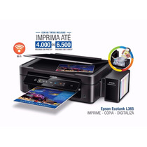 Multifuncional Color Wi-fi Ecotank L365 Subst L355 Epson....