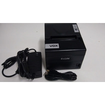 Impressora Termica Elgin Naofiscal Vox 100mm S/ Serrilha Usb